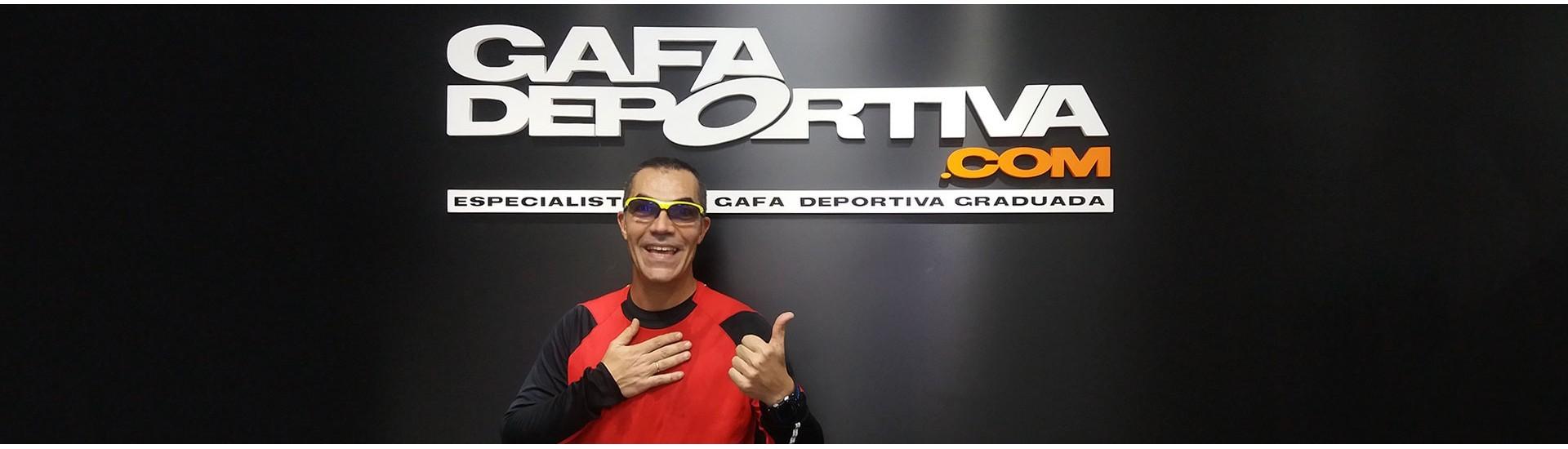 RAMÓN ARROYO Y SUS GAFAS DEPORTIVAS GRADUADAS EOS