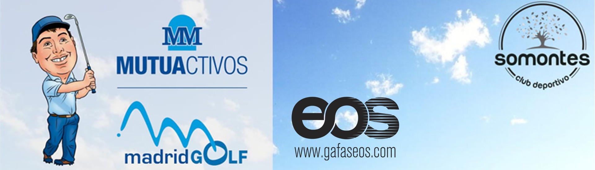 Gafas EOS en Madrid Golf 2018