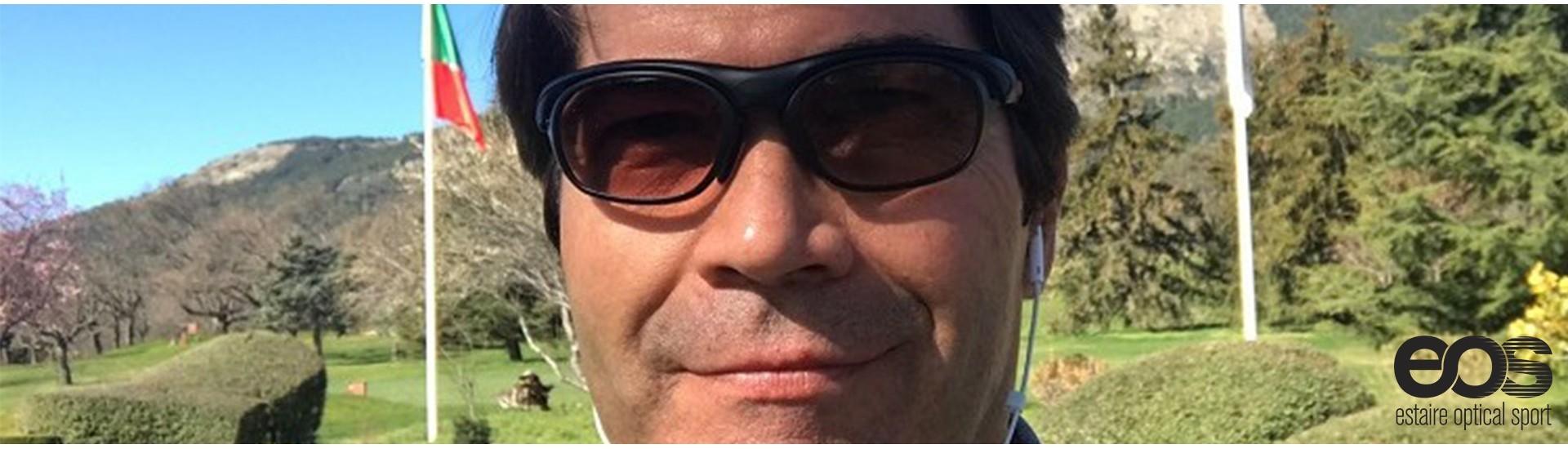 Alvaro Beamonte y sus gafas graduadas EOS
