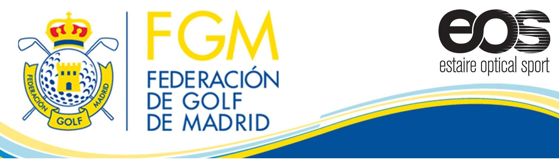Gafas EOS, nuevo patrocinador de la Federación Madrileña de Golf, ofrece descuentos especiales a los federados